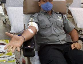 Vigilantes da Viperfort participam de campanha de doação de sangue